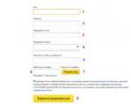 Вход в личный кабинет Яндекс.Директ: особенности, возможности, порядок действий