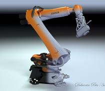 Студия 3д фрезеровки скульптур и форм роботом KUKA