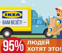 Бизнес по продаже и доставке товаров ИКЕА