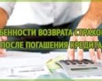 Как осуществляется возврат страховки после выплаты кредита в Сбербанке